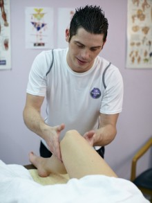 Sports Massage for releasing muscular tension